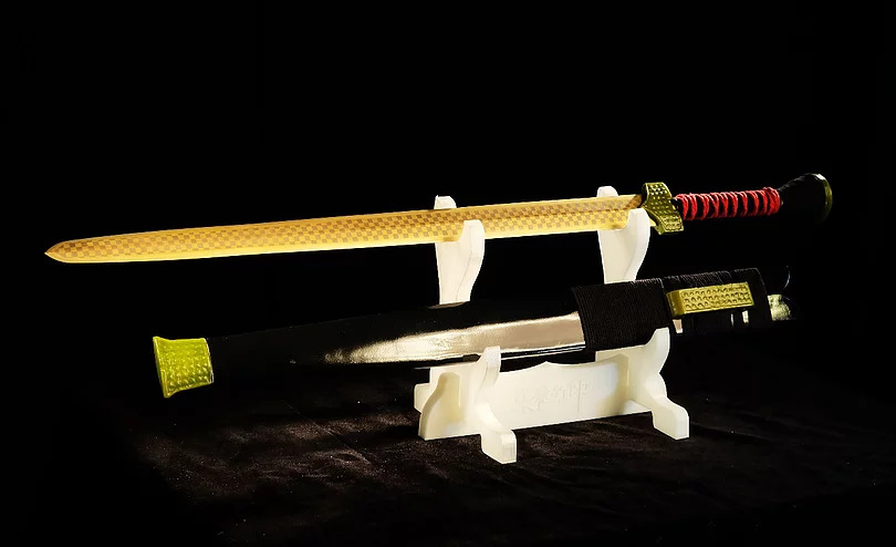 Re-produced Yushou Sword By Reverse Engineering With SHINING 3D Scanner And Printer