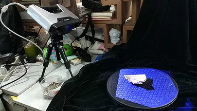 ·Scanning Song Dynasty porcelain fragments with EinScan-Pro