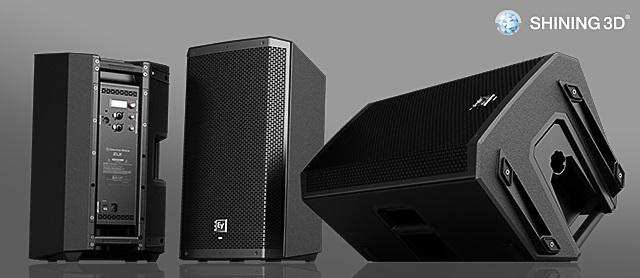 3d scanned speaker by Shining3d