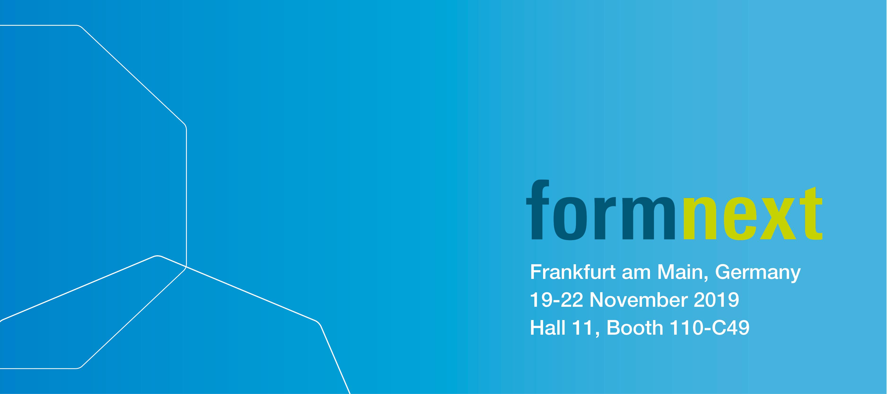 Formnext, 19-22 November