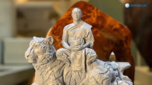 3D Scan Thai Monk for Better Spreading Buddhist Culture