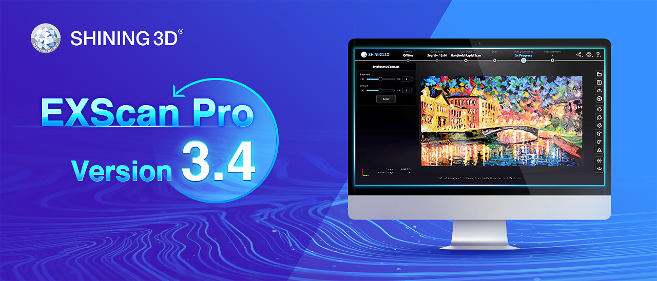 Discover Exscan Pro V3.4 for EinScan Pro 2X and 2X Plus with Exciting New Features