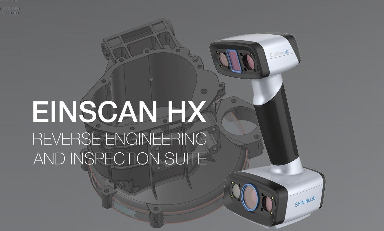 EinScan HX & Verisurf