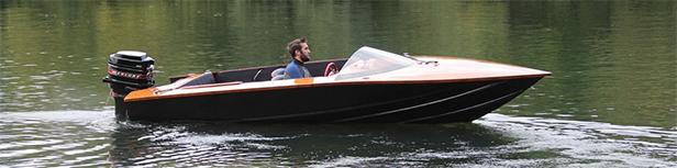 Dan Lee the boat builder