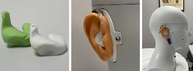 Hearing Beyond: The Digital Approach to Same-day Custom Ear Molds - Finished ear mold