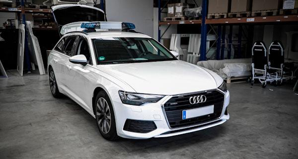 Audi A6 custom emercency response vehicle